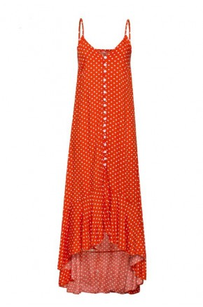 Jessica Polka Dot Maxi Dress