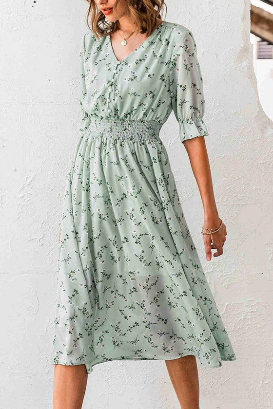 Aimee Vintage Midaxi Dress