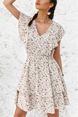 Ainley Floral Boho Dress