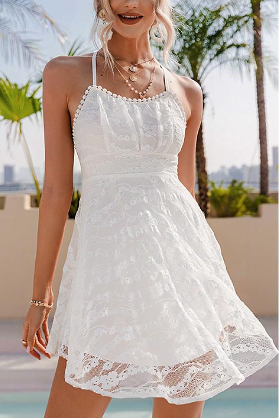 Chelsea Lace Skater Dress