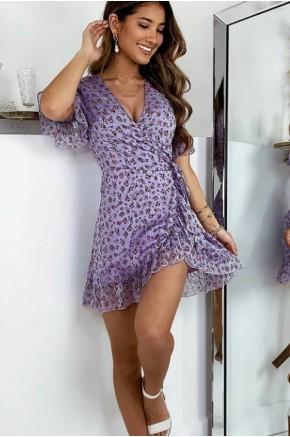 Angelina Romantic Wrap Dress
