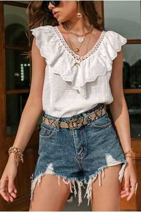 Lucille Sleeveless Blouse