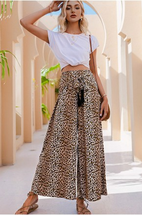 Alyssa Tassel Tie Wide Pants