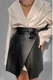 Chantelle Wrap Mini Skirt