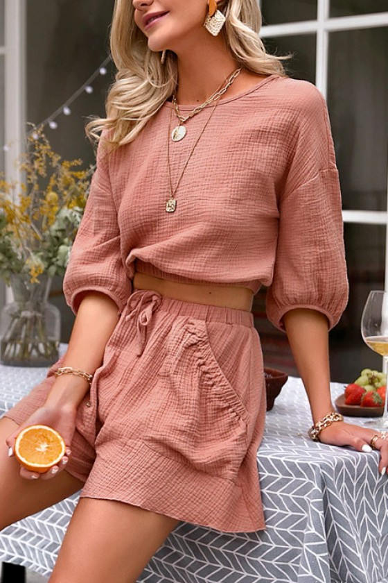 Darcy Top and Shorts Set