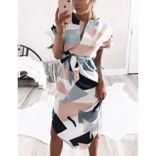 'Angela' Summer Midi Dress