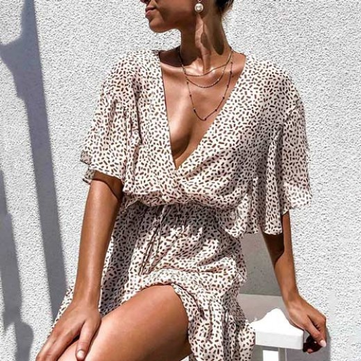 'Jade' Easy Breezy Ruffle Dress