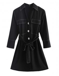 'Renesmee' Buttons Shirt Dress