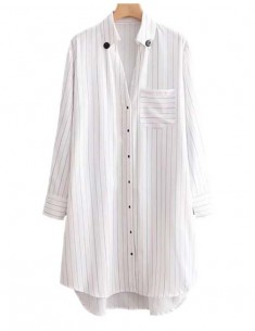 'Zoe' Button Up Oversized Shirt Dress