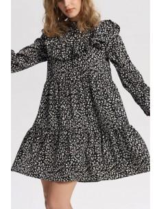 'Charley' Ruffled Tunic Dress