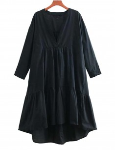 'Cacia' High-Low Oversized Dress