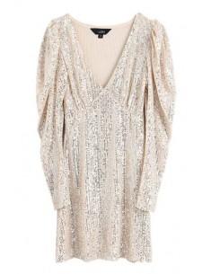 'Melosia' Sequined Mini Dress