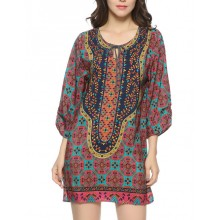 Bright Patterned Lightweit Tunic