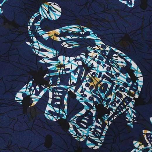 Totem & Elephants Print Boho Tunic
