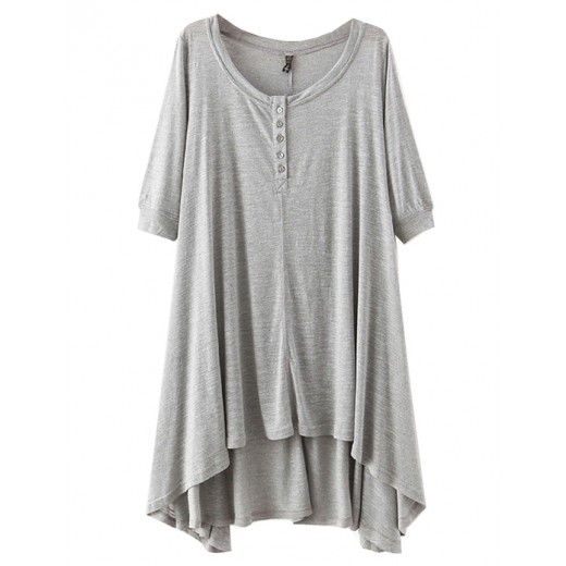 High Low Basic Tunic Dress