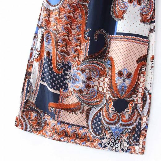 Printed Summer Maxi Dress