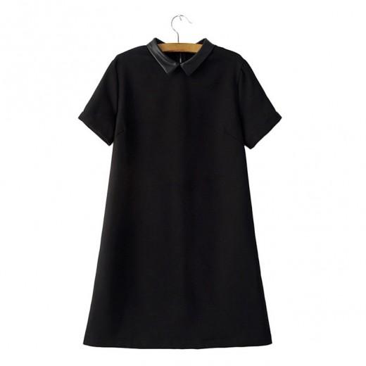 Classic Black Mini Dress