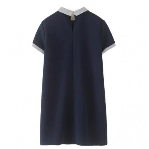 Casual Basic Mini Dress