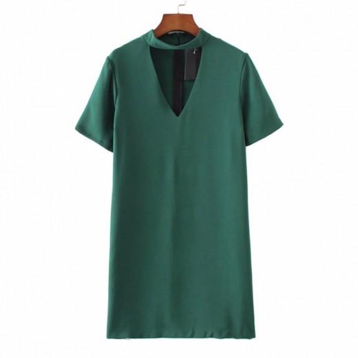 'Rosanna' Cut Out Neck Mini Dress