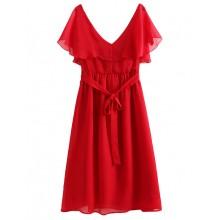 Sweet Flowy Ruffle Dress