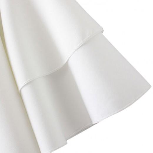 'Rosemary' Ruffle Sleeve Mini Dress