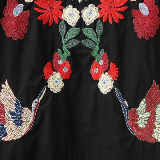 'Dahlia' Bohemian Embroidered Tunic