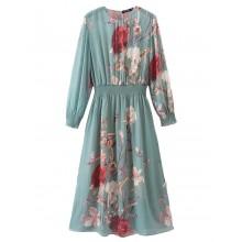 'Ethel' Soft Floral Sheer Dress