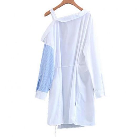 'Madeleine' One Shoulder Wrap Dress