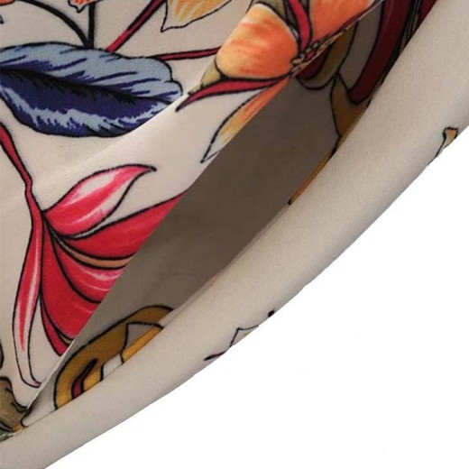 'Ditte' Floral Pattern Long Dress
