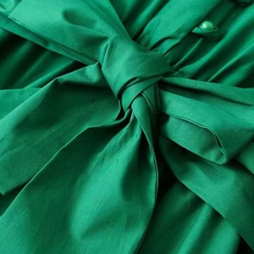 'Jazlyn' Green Midi Dress