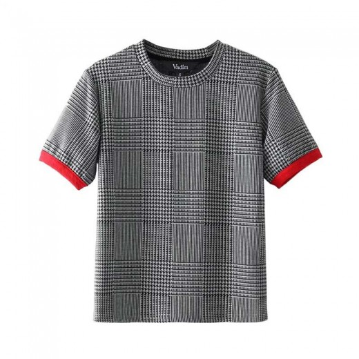 'Jonquil' Short Sleeve Plaid Shirt