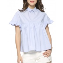'Evie' Loose Fit Flare Blouse