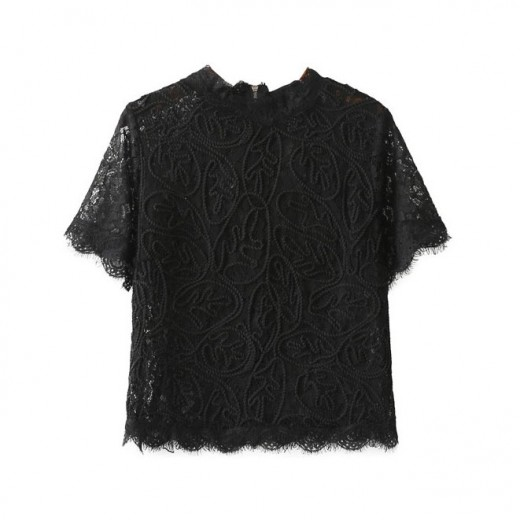 Angelica Vintage Lace Top