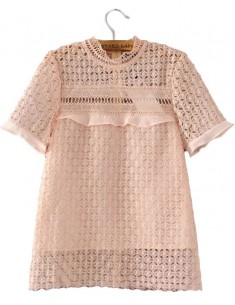 'Vivienne' Crochet Blouse