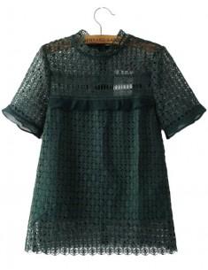 Vivienne Crochet Blouse