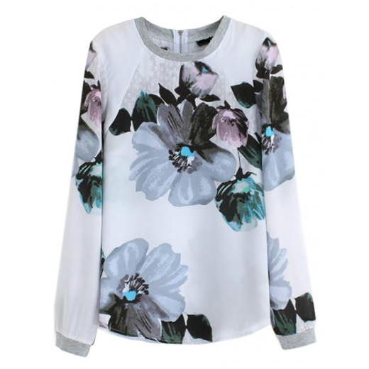'Heaven' Floral Print Long Shirt