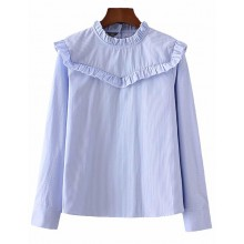 'Grace' Ruffle Detail Vintage Shirt