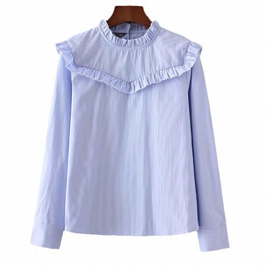 'Grace' Ruffle Detail Vintage Shirt