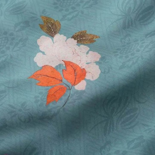 Tie Neck Floral Bodysuit