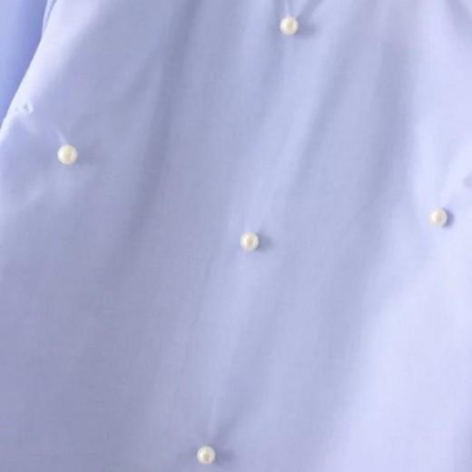 'Lynn' Bell Sleeve Beaded Blouse