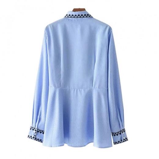 'Emory' Ruffled Hem Tassels Shirt