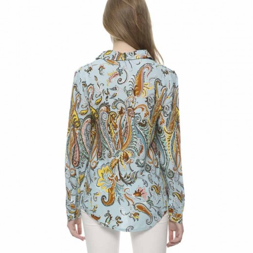 Cashew Pattern Blouse