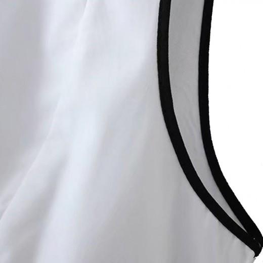 'Ivonne' Back Bow Tie Peplum Blouse