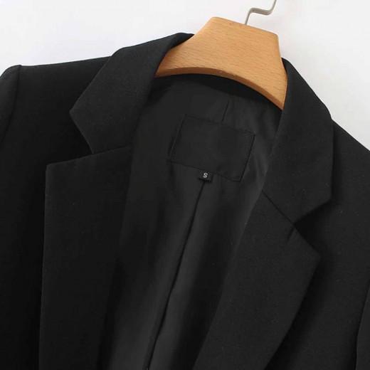 'Quinn' Oversized Black Blazer