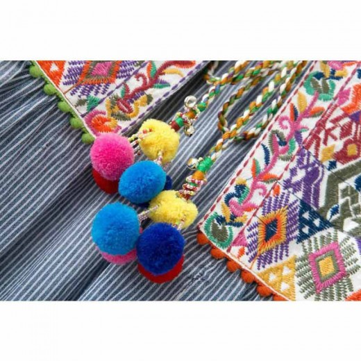 'Filippa' Embroidered Retro Jacket