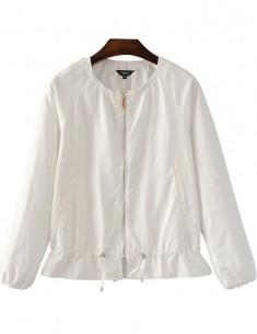 'Bianca' Loose Zipper Jacket