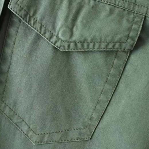 'Nicoletta' Green Patches Jacket