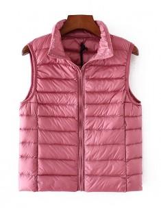 'Hadley' Cute Pink Puffer Vest