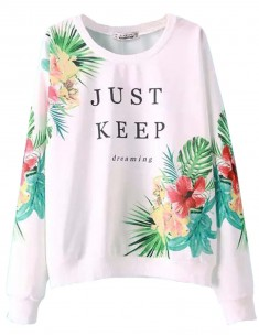 Just Keep Dreaming Sweatshirt