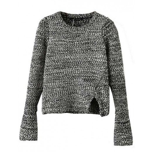 Casual Knit Crop Sweater
